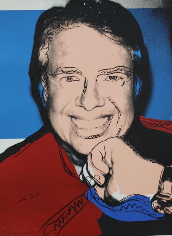 Andy Warhol, 'Jimmy Carter II (FS II.151)', 1976, Print, Screenprint on Strathmore Bristol Paper, Revolver Gallery