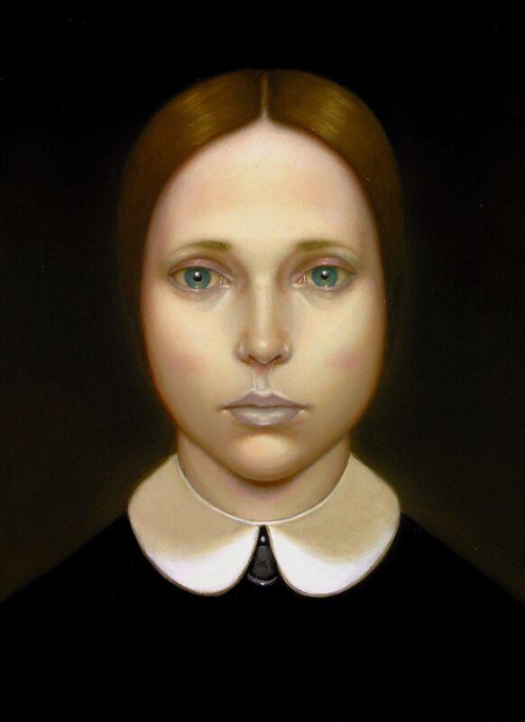 Greta Frau, 'D. 444', 2014, Painting, Oil on wood, The Flat - Massimo Carasi