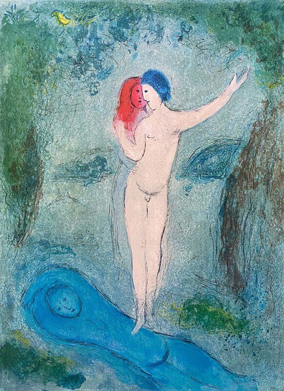 """Marc Chagall, '""""Le Baiser de Chloé (Chloe's Kiss),"""" from Daphnis et Chloé (Cramer 46; Mourlot 330)', 1977, Print, Offset lithograph on wove paper, Art Commerce"""