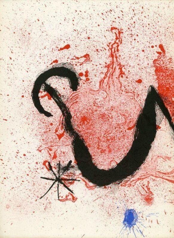 Joan Miró, 'Artigas', 1963, Print, Original lithograph on wove paper, Samhart Gallery