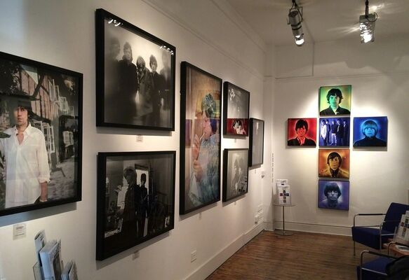 Off The Hook : The Rolling Stones by Gered Mankowitz, installation view