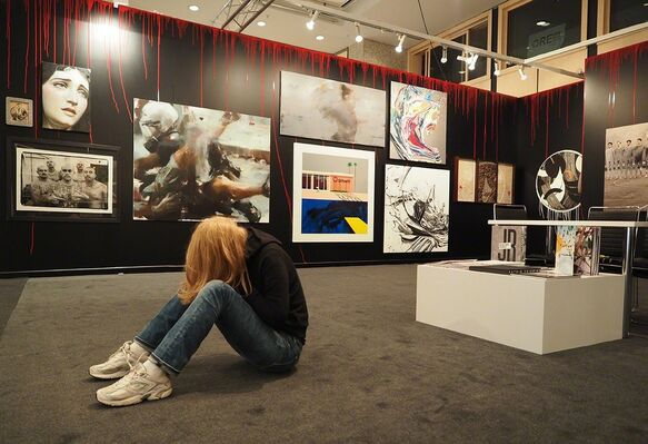 Lazarides at Contemporary Istanbul 2016, installation view