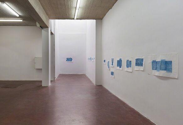 New Rubbing by Jennifer Bornstein, installation view