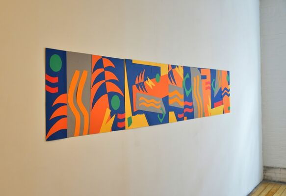 Paper: On the Wall, installation view