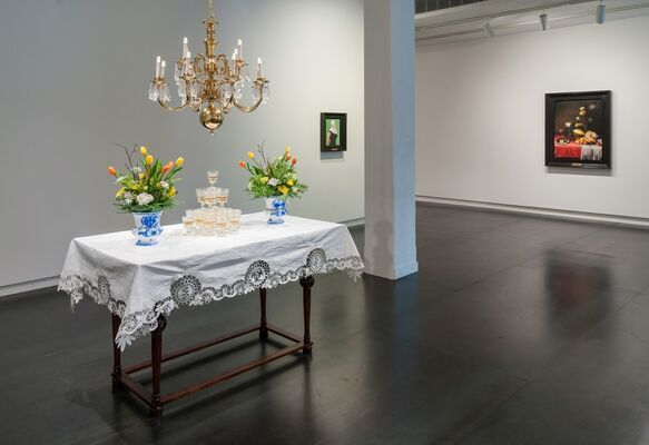 Eat, Drink, and Be Merry, installation view