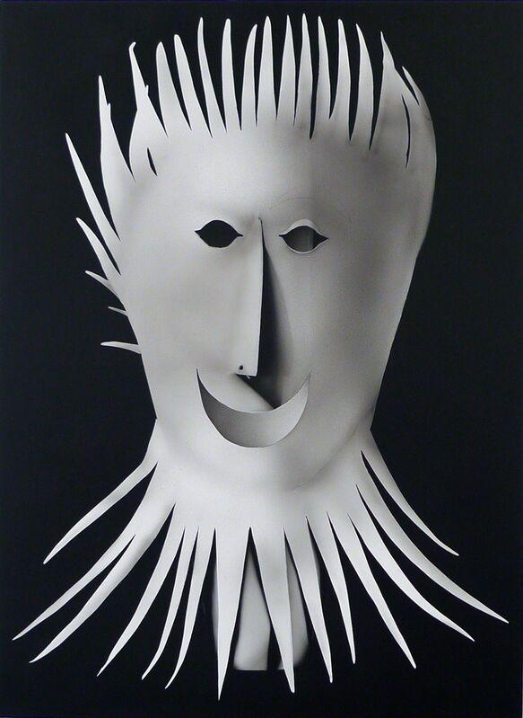 Kara Joslyn, 'Mask', 2015, Painting, Acrylic and polymer car paint on panel, Mark Moore Fine Art