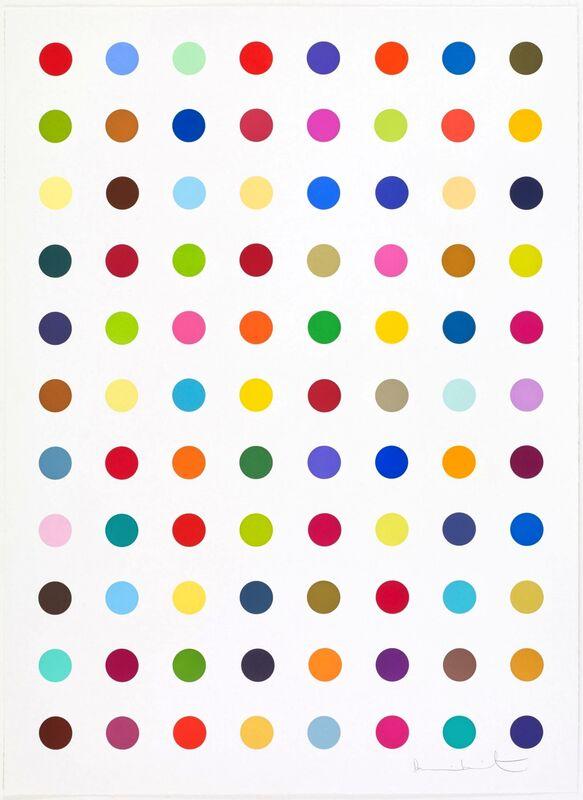 Damien Hirst, 'L-Isoleucine Methyl Ester', 2018, Print, Woodcut, Vogtle Contemporary