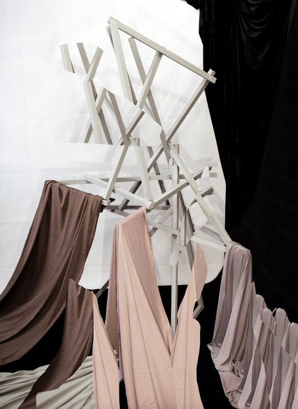 Nico Krijno, 'Maquette with Drape', 2014, Photography, INKJET PRINT ON COTTON PHOTO RAG, Huxley-Parlour