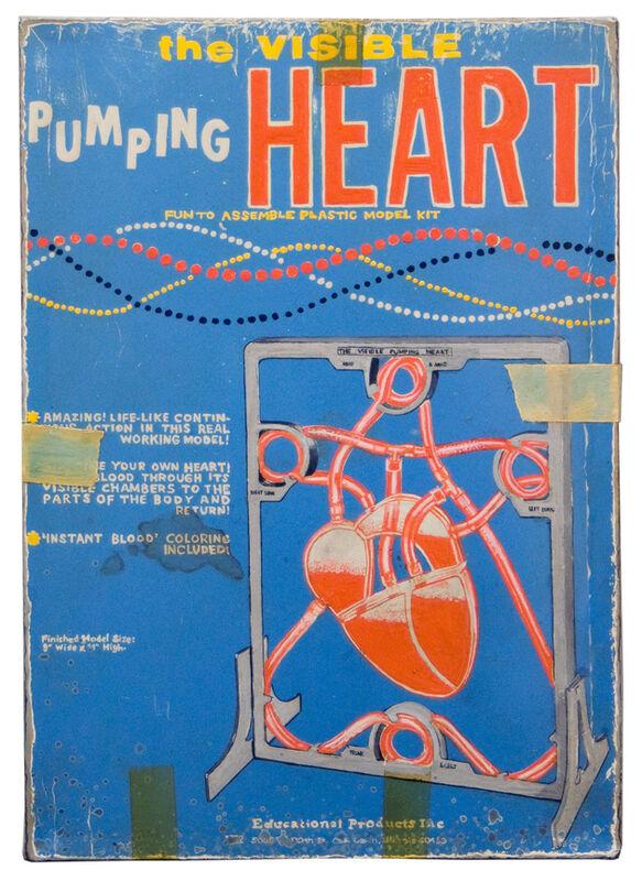 Tim Liddy, 'circa 1955 Pumping Heart', 2012, Mixed Media, Oil & enamel on copper, Clark Gallery