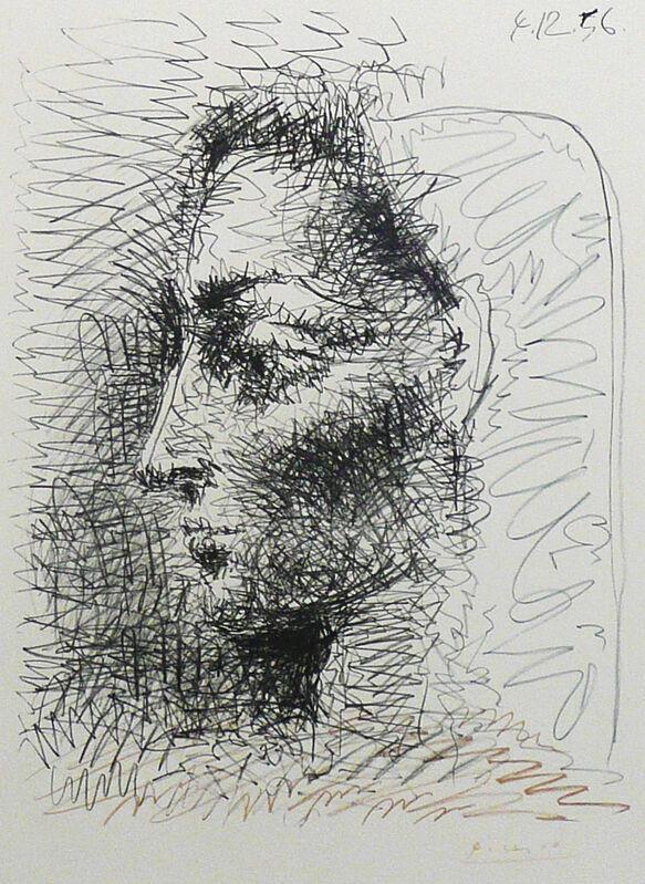 Pablo Picasso, 'Portrait de Jacqueline', 1956, Print, Lithograph, Beck & Eggeling