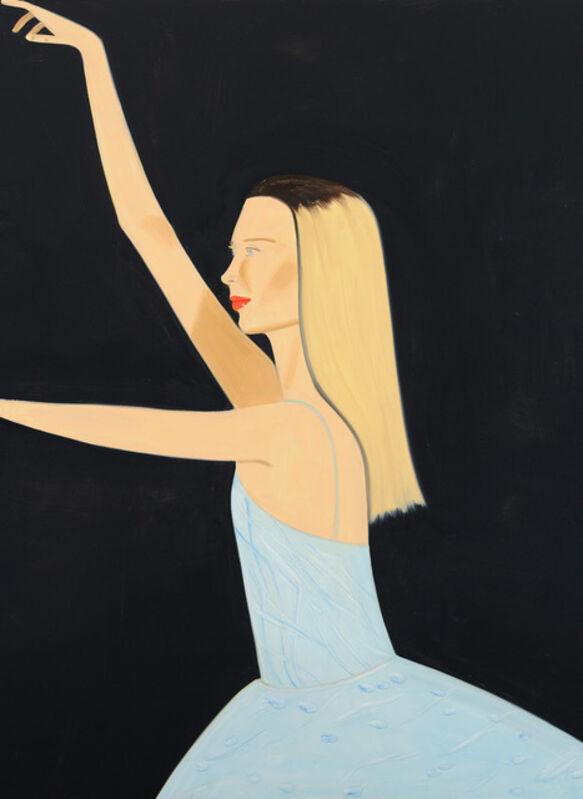 Alex Katz, 'Dancer 2', 2019, Print, Silkscreen on paper, Galerie Schimming