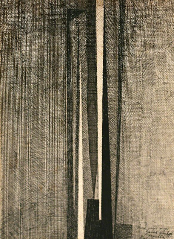 Jose Mijares, 'Untitled', 1963, Drawing, Collage or other Work on Paper, Ink on paper, Pan American Art Projects