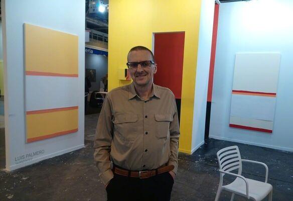 Galería Manuel Ojeda at Estampa Contemporary Art Fair 2018, installation view