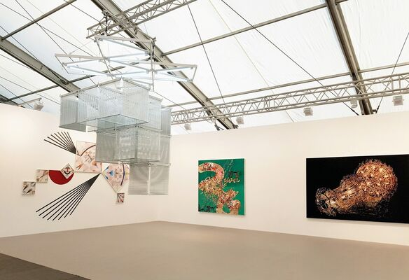 Kukje Gallery at Frieze London 2016, installation view