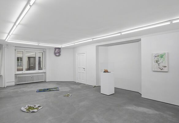 Inflected Objects # 2 Circulation – Otherwise, Unhinged, installation view