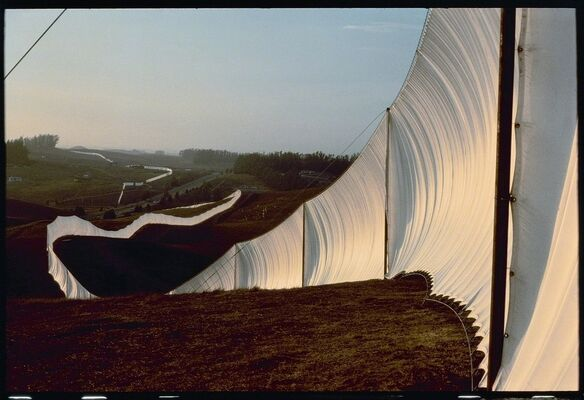 Christo and Jeanne-Claude: The Tom Golden Collection, installation view