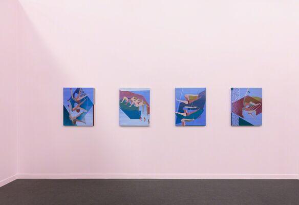 Rachel Uffner Gallery at Frieze New York 2019, installation view