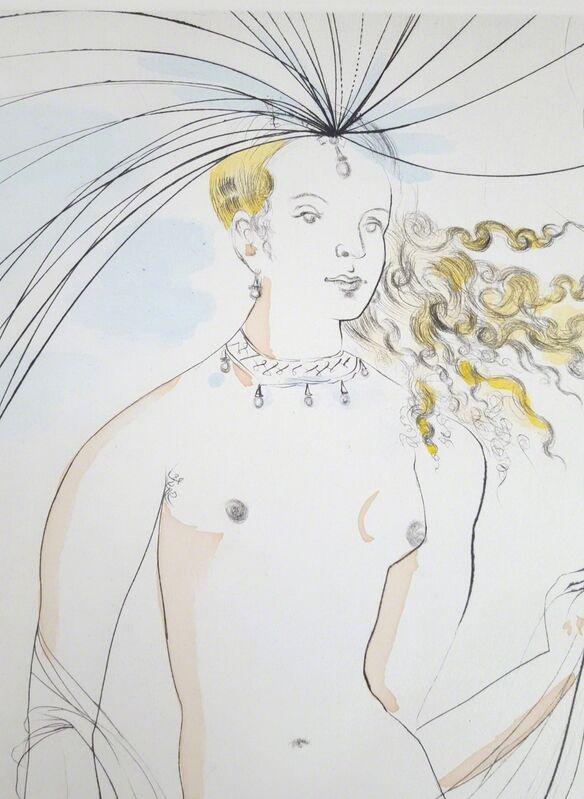 Salvador Dalí, 'Venus et L'Amour (Venus and Cupid)', 1971, Print, Drypoint Etching, Graves International Art
