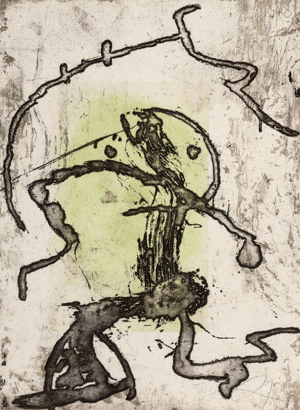 Joan Miró, 'Rupestres X', 1978, Print, Etching in colors on Arches paper, Heritage Auctions