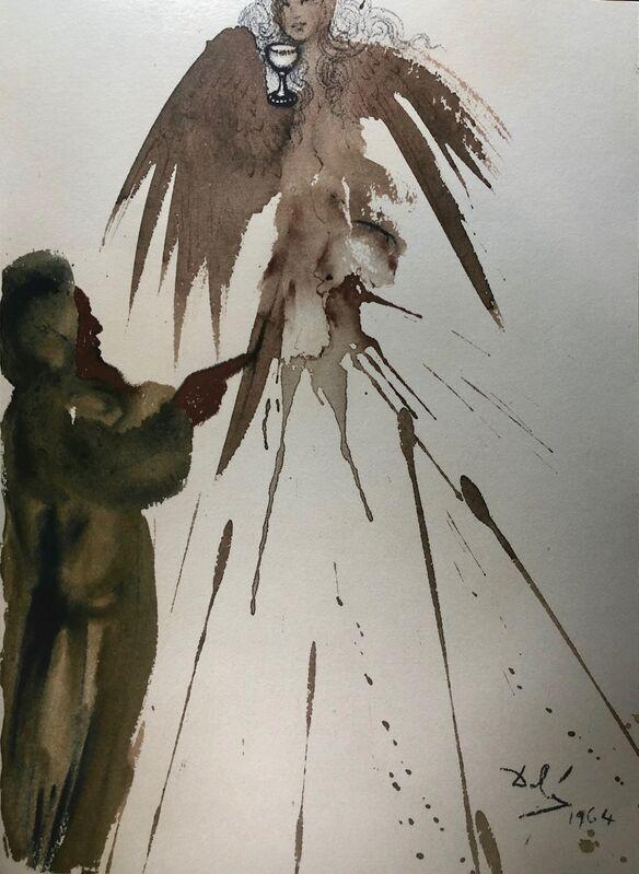 Salvador Dalí, 'The Spotless Offering, 'Oblatio Munda', Biblia Sacra', 1967, Print, Original Lithograph, Inviere Gallery