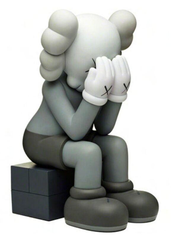 KAWS, 'Passing Through (Grey)', 2013, Sculpture, Painted cast vinyl, Lougher Contemporary