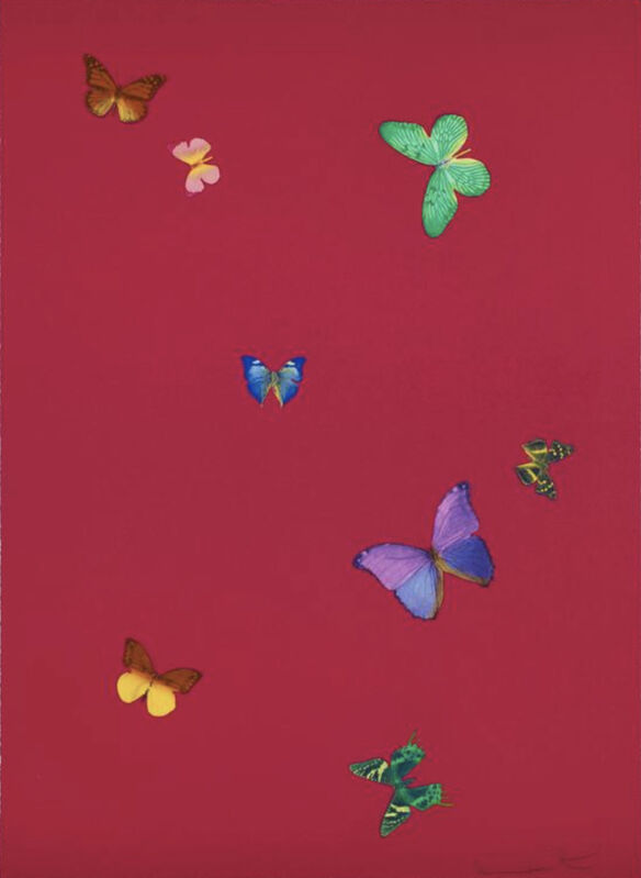 Damien Hirst, 'Your Smell (from The Wonder of You)', 2015, Print, Polymer-gravure etching with lithographic overlay on wove paper, Christopher-Clark Fine Art