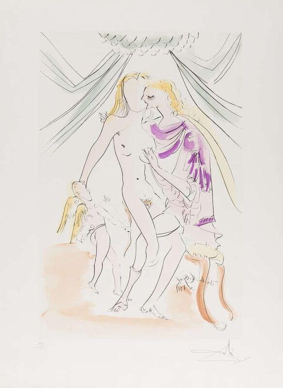 Salvador Dalí, 'Venus (Field 74-17-A; M&L 677e)', 1971, Print, Etching, Forum Auctions