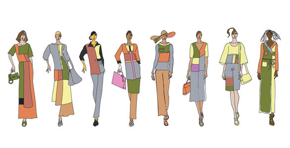 Jasmine Soto, 'Klee Quarry Couture', 2017