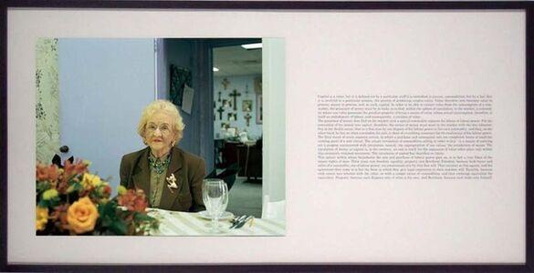 Milica Tomic, 'Reading Capital', 2005