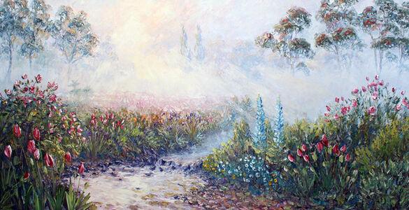 Richard Ponder, 'Misty Morning in the Garden', 2020