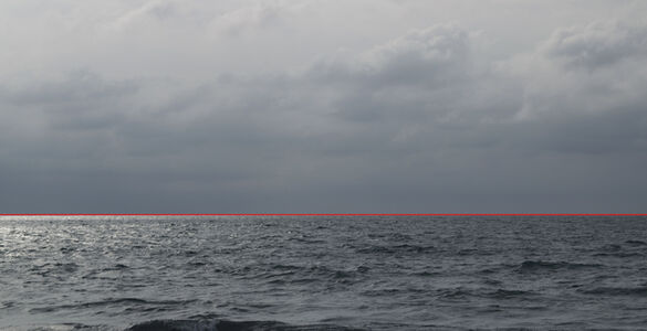 Santiago Velez, 'Linea roja ( Red line)', 2018