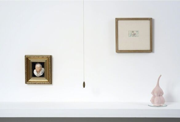 THROUGH THE LOOKING GLASS, installation view