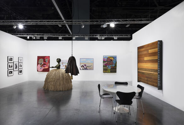 Luhring Augustine at Art Basel in Miami Beach 2019, installation view