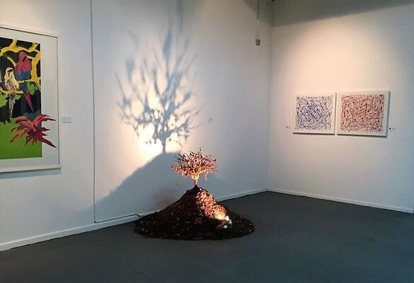 II Contemporary Art Biennale of Argentina, Buenos Aires,2014, installation view