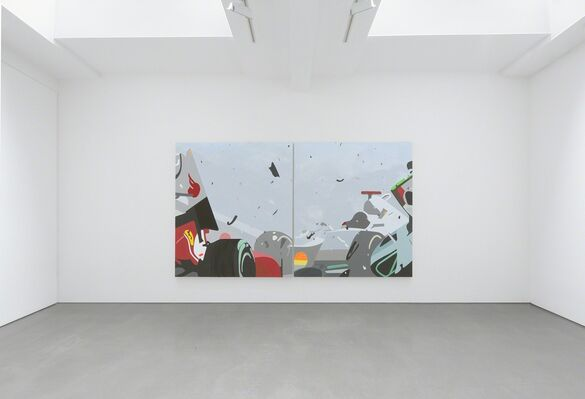 Brian Alfred: It Takes  A Million Years To Become Diamonds So Let's All Just Burn Like Coal Until The Sky Is Black, installation view