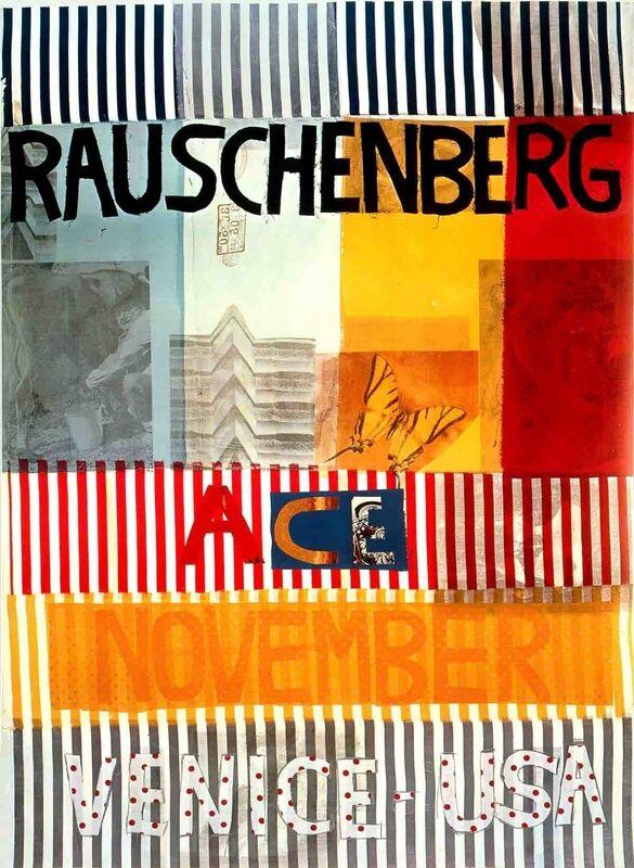 Robert Rauschenberg, 'Ace Gallery, Venice, California (lg)', 1977, Ephemera or Merchandise, Offset Lithograph, ArtWise