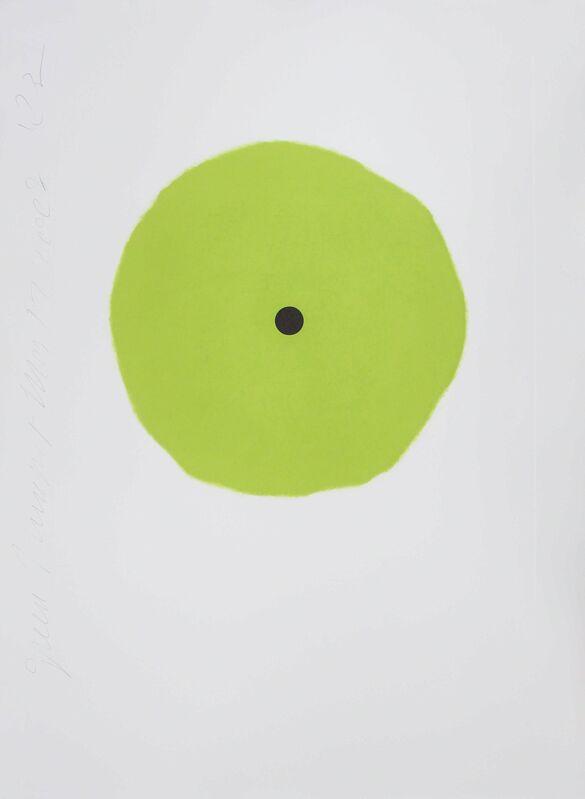 Donald Sultan, 'Green Trumpet', 2008, Print, Aquatint, Zane Bennett Contemporary Art