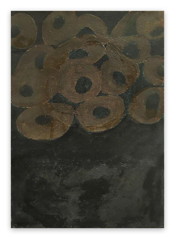 Fieroza Doorsen, 'Untitled (Id. 1284) (Abstract painting)', 2017, Painting, Oil on paper, IdeelArt