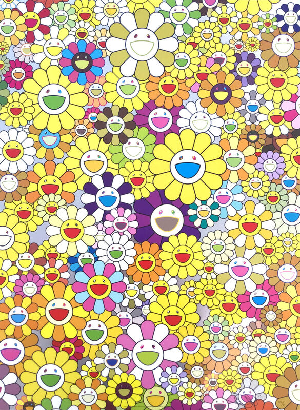 Takashi Murakami, 'An homage to Monogold', 2012, Print, Offset lithograph, Gallery Red