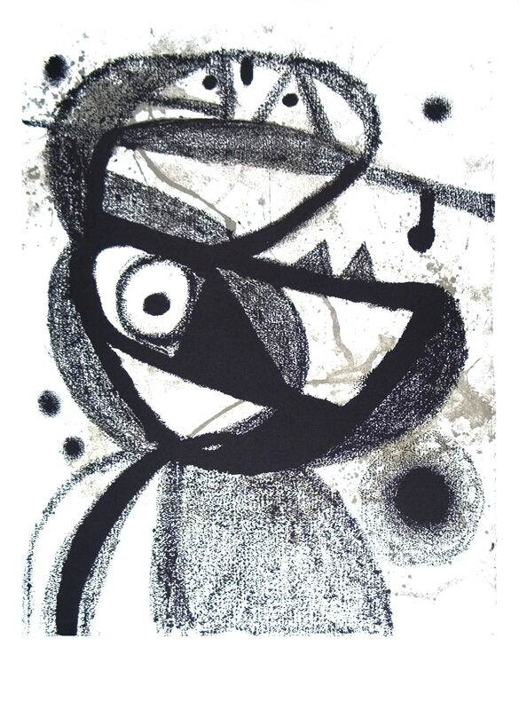 Joan Miró, 'Personnage', (Date unknown), Posters, Offset Lithograph, ArtWise