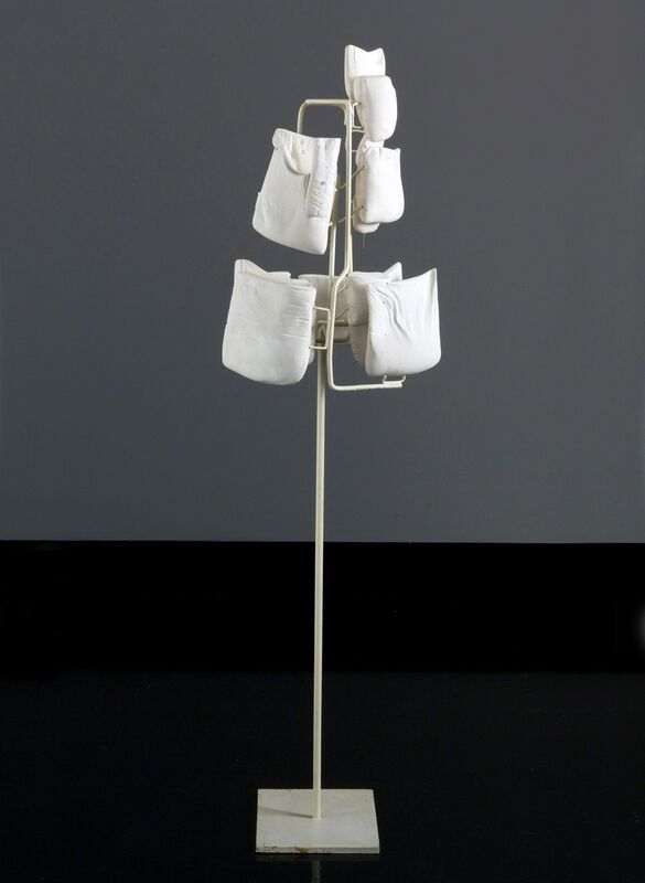 Tim Hawkinson, 'Pocket Self-Portrait', 1991, Sculpture, Plaster and steel, Tang Teaching Museum and Art Gallery
