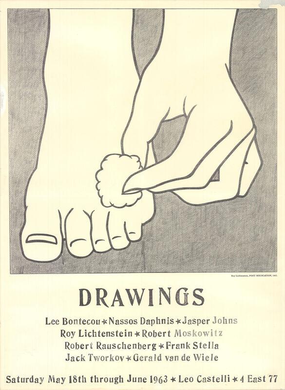 Roy Lichtenstein, 'Foot Medication', 1963, Ephemera or Merchandise, Offset Lithograph, ArtWise