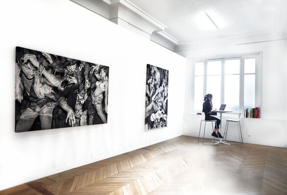 Over the Influence at Asia Now 2019, installation view