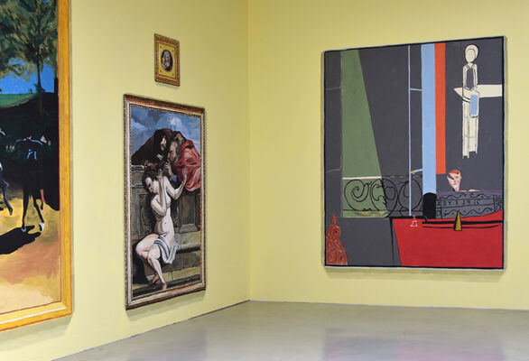 JEAN LOWE and KIM MACCONNEL: THE MUSEUM OF METROPOLITAN ART - at Quint Projects, installation view