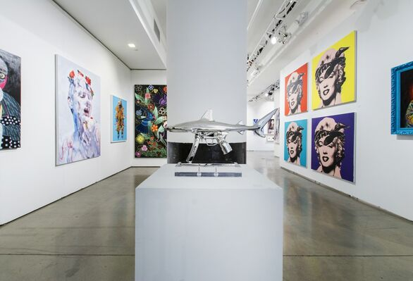 Joseph Gross Gallery at SCOPE New York 2016, installation view
