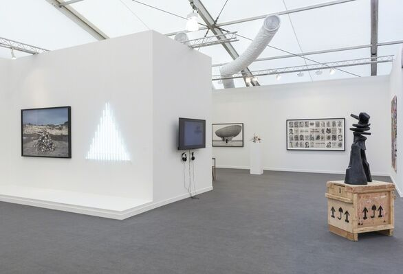 Goodman Gallery at Frieze New York 2019, installation view