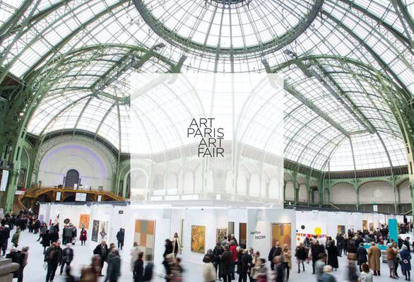 Bailly Gallery at Art Paris 2016, installation view