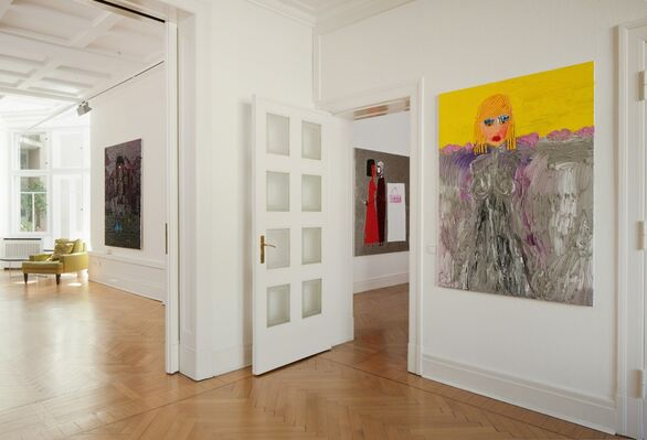 Ecaterina Vrana: Between Two Worlds, installation view