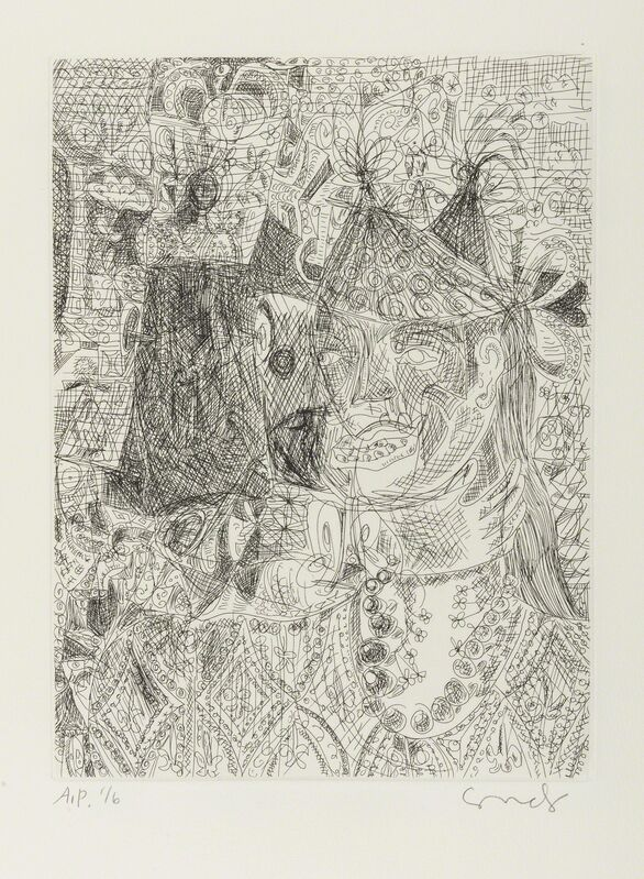 George Condo, 'Untitled', 1989, Print, Etching, Forum Auctions