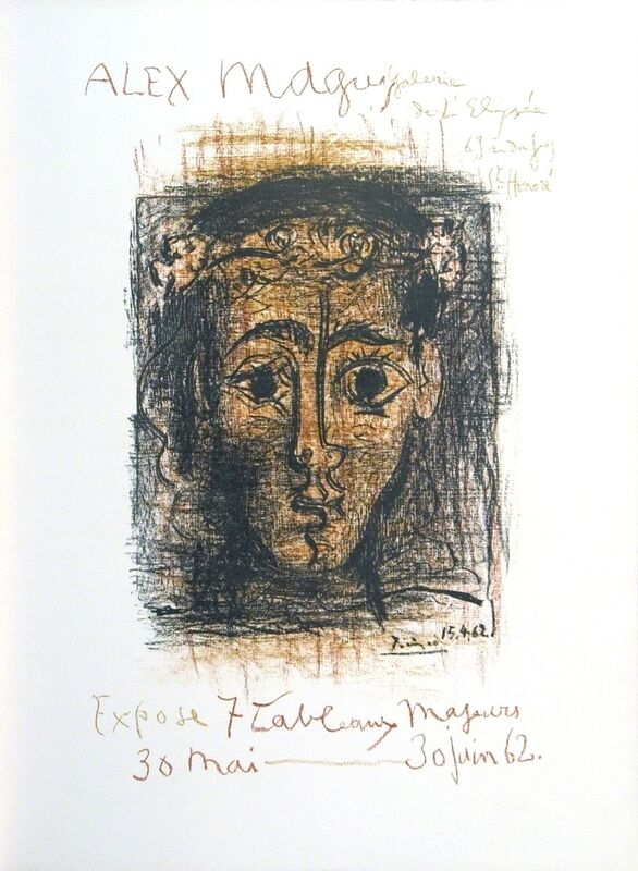 Pablo Picasso, 'Alex Maguy Gallery', 1962, Print, Lithograph, ArtWise
